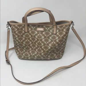 Coach Leather Park Metro Dream C Tote